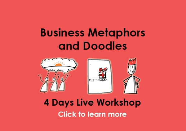 Business-Metaphors and doodles by-Curious-Piyuesh