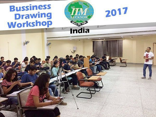 Business-drawing-workshop-IIM-lucknow-curious piyuesh