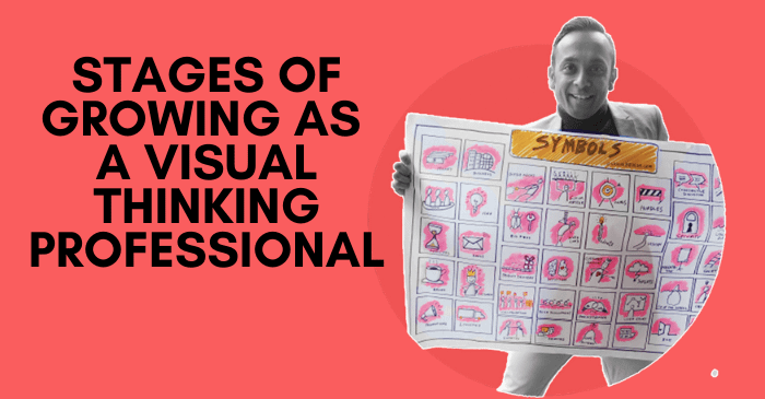 Stages of Growing as a Visual Thinking Professional by Piyuesh Modi