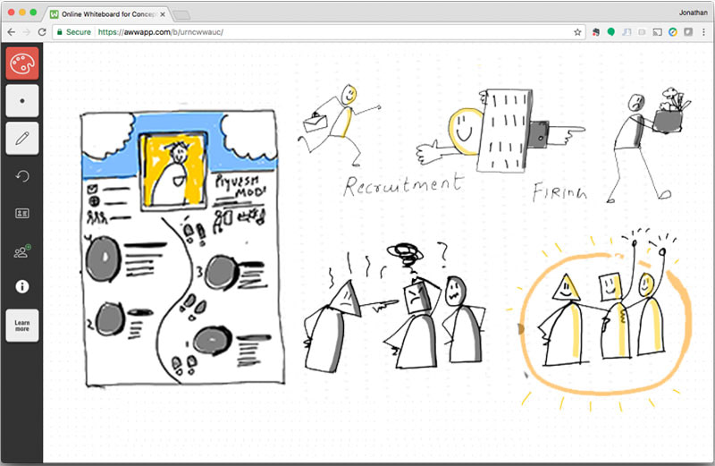 Visual-Storytelling-for-online-whiteboards-by-curious-piyuesh